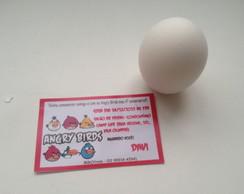 Convite No Ovo Angry Birds