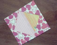 Porta Cart�es Heart