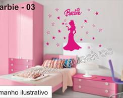 Adesivo Infantil Meninas Barbie -03