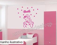 Adesivo Infantil Meninas Barbie -04