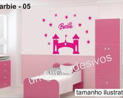 Adesivo Infantil Meninas Barbie -05