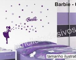Adesivo Infantil Meninas Barbie -06