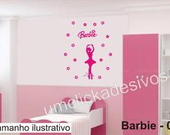 Adesivo Infantil Meninas Barbie -08