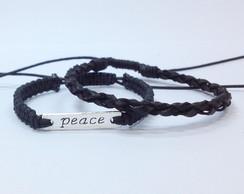 Pulseira Masculina Peace (paz)