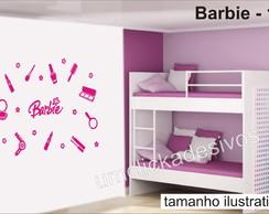 Adesivo Infantil Meninas Barbie -10