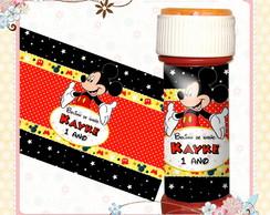 R�tulo Bolinha De Sab�o Mickey Mouse