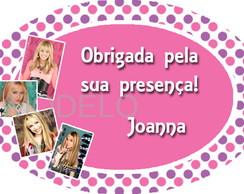 Adesivo Hannah Montana