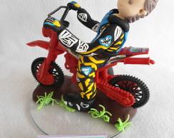 Topo de Bolo Motocross