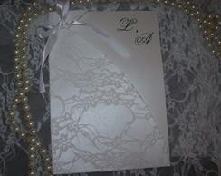 Convite Vestido Noiva