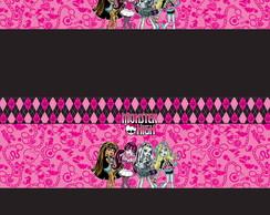 R�tulo Pastilha - Monster High