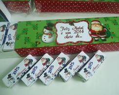Caixa de Bis personalizada Natal