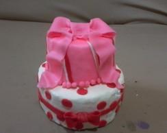 mini- bolo de bisqui