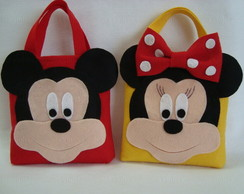 Sacola surpresa Mickey - Minnie