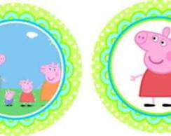 Peppa Pig 15 Adesivos