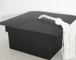 Lembrancinha formatura -Capelo de papel