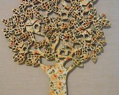 �rvore Casinhas Passarinhos 60cm