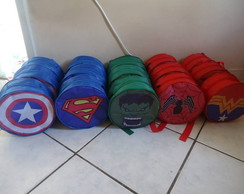 Mochila Pers. S�mbolos Super Her�is