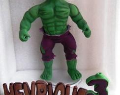 topo de bolo Incrivel Hulk