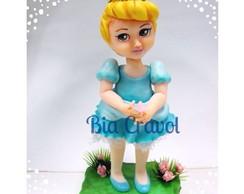 Topo De Bolo Da Cinderela Baby