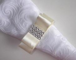 Porta guardanapo la�o chanel com strass