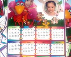 Calend�rio de parede 2014 Personalizado