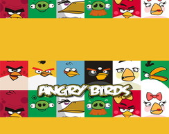 R�tulo Pastilha - Angry Birds