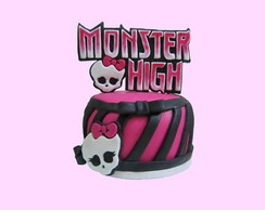 Mini Bolo Monster high