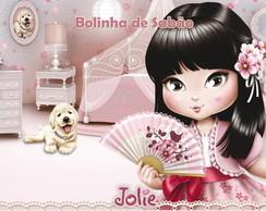 R�tulo Bolinha De Sab�o - Jolie