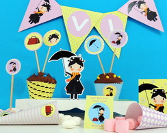 Kit Festa Mary Poppins - Tons Past�is