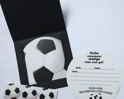 Kit 10 Convites anivers�rio Futebol