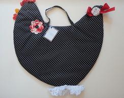 Puxa saco - Galinha com croch�