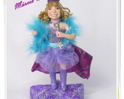 Topo de bolo Barbie Pop Star