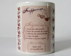 Caneca Receitas . Frappuccino