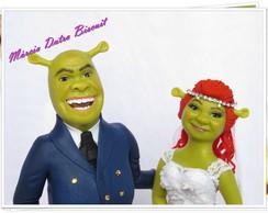 Noivinhos Shrek e Fiona