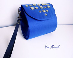Mini Clutch - Azul Bic