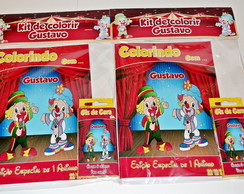 Kit de Colorir Circo do Patati Patat�