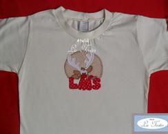 Camisa ou body Natal (Rena)