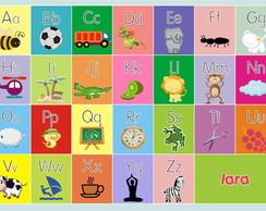 Jogo Americano Alfabeto ou N�meros