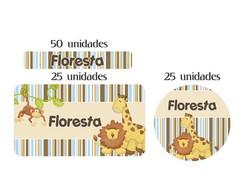 Kit Etiq Prova A �gua  Floresta