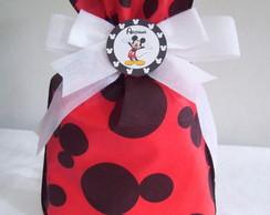 Sacola De Tnt Mickey 20x30cm