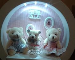 Nicho Enfeite De Porta Maternidade Led 1