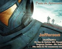 Convite - Circulo De Fogo