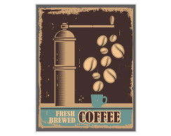 PlacaMDF Retr�Fresh Brewed Coffee - 687