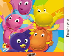 R�tulo Para M&m Backyardigans