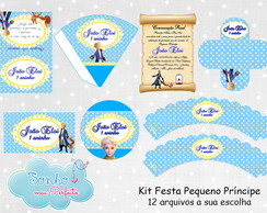 Kit Digital Tema Pequeno Pr�ncipe