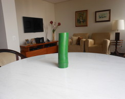 Vaso bambu cor verde