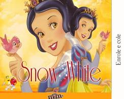 R�tulo Para M&m Branca de Neve