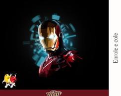 R�tulo Para M&m Iron Man