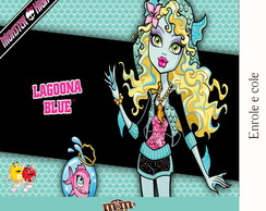 R�tulo Para M&m Monster High