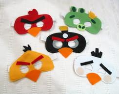 M�scara Angry Birds feltro
